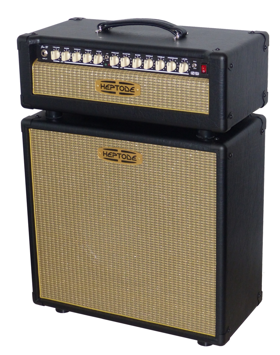 Heptode Jim'81 head and 1x12 cabinet